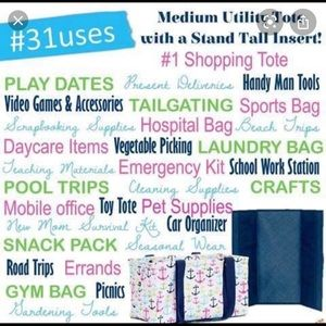 thirty-one Other - Thirty One Mexium Utility Tote